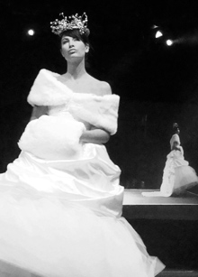 Anna H fashion show 2010