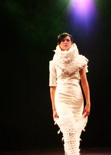 Lyndsey G fashion show student 2010