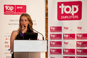 Ann S Presenting  Top Employers conference