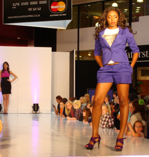 white catwalk flooring GLAM productions 2011