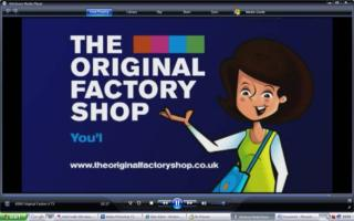 The orgional factory outlet advert Scutt famile 2011